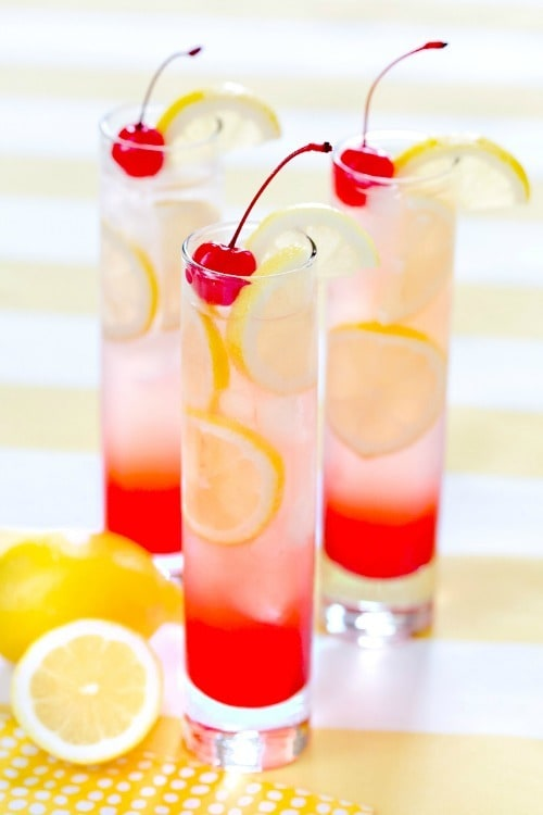 Non Alcoholic Fruity Summer Drinks