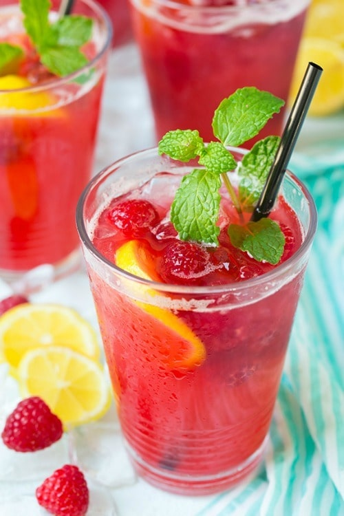 Enjoy sipping on these refreshing and fruity summertime drinks!! The tastiest way to cool down!