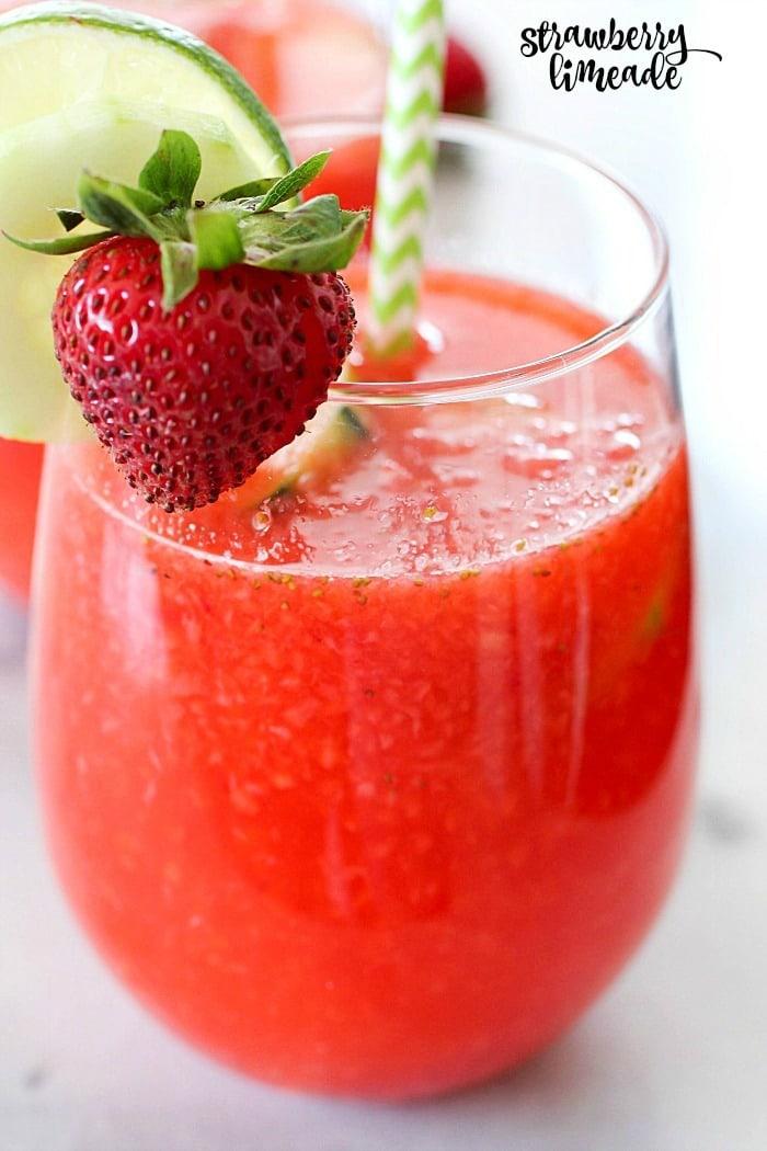 Strawberry Limeade Cake Recipe
