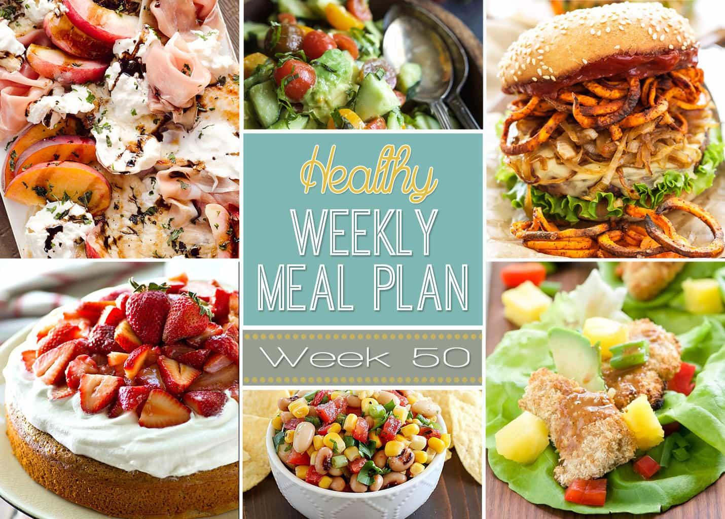 healthy weekly meal plan 50 yummy healthy easy