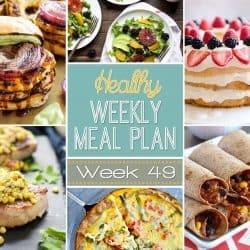 Healthy Weekly Meal Plan #49