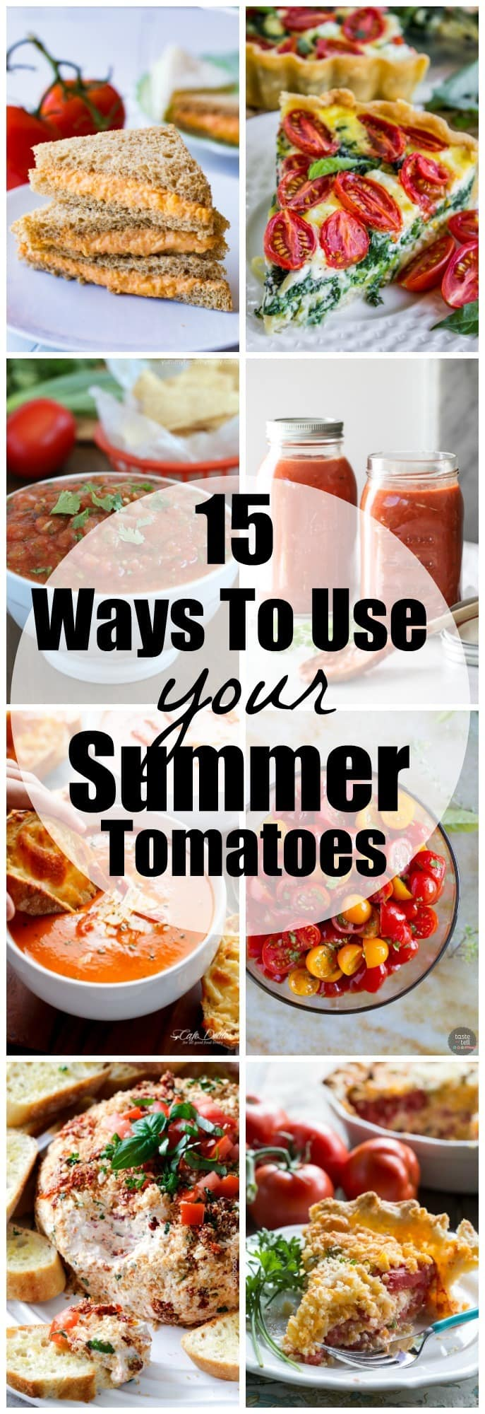15 tomato recipes to use summer tomatoes yummy healthy easy 15 tomato recipe to use your summer tomatoes scrumptious ways that you can enjoy forumfinder Image collections