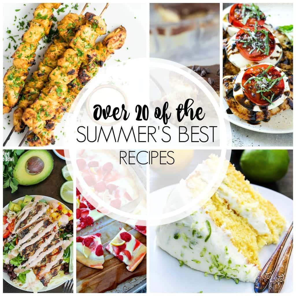 20+ Perfect Summer Recipes - Yummy Healthy Easy