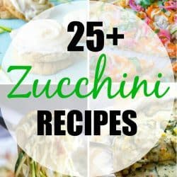 25+ Amazing Zucchini Recipes