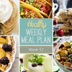 Healthy Weekly Meal Plan #57