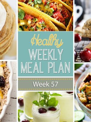 Healthy Weekly Meal Plan #57