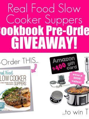 Cookbook Pre-Order Prize Pack Giveaway!