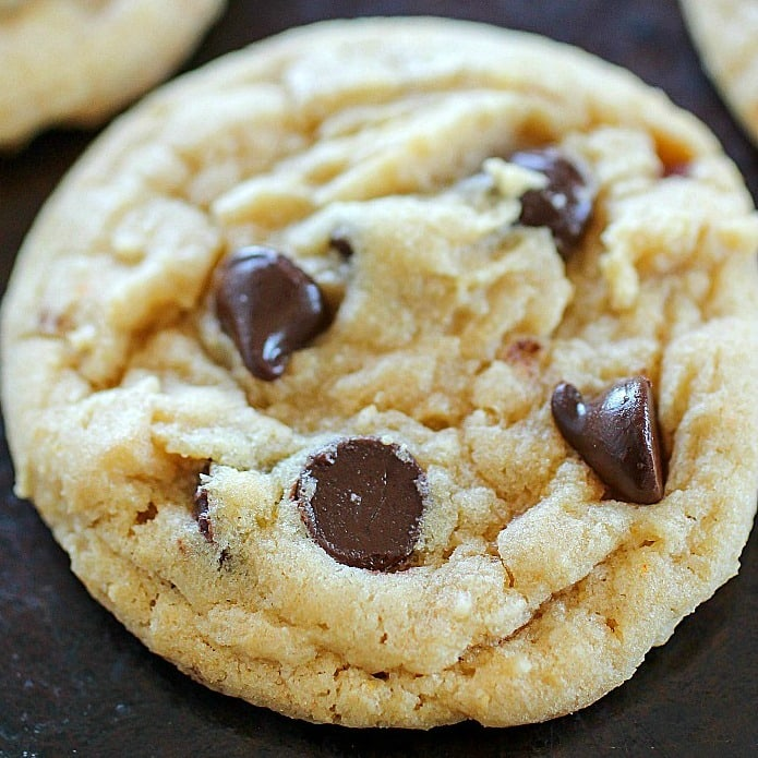 Vanilla Pudding Chocolate Chip Cookies Yummy Healthy Easy