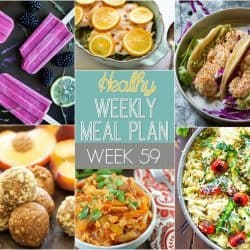Healthy Weekly Meal Plan #59