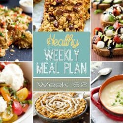 Healthy Weekly Meal Plan #62