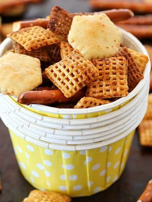 Homemade Snack Mix Recipe