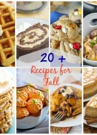 20+ Must-Make Fall Recipes! Fall is the best time to bake and these 20+ recipes are a great place to start! From pumpkin savory dishes to fall spiced breakfast recipes, I've got you covered. These are the best of the best fall recipes!