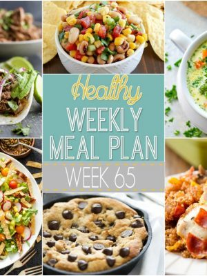 Healthy Weekly Meal Plan #65