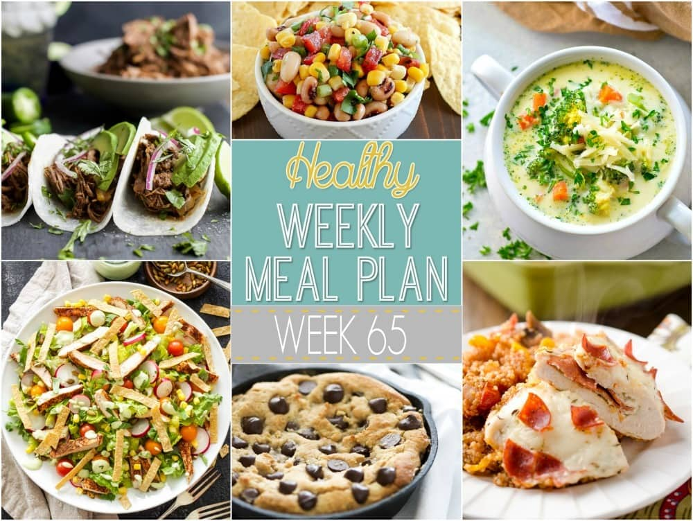 Healthy weekly meal plan 65 yummy healthy easy for Plan 65