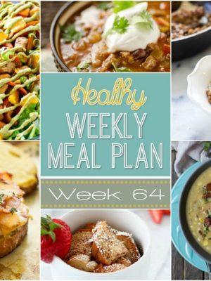 Healthy Weekly Meal Plan #64