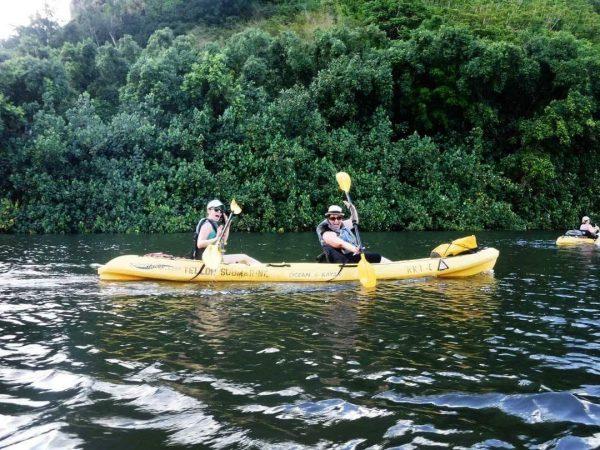 Rainbow Kayak Tours down the Wailua River to Secret Falls (The Ultimate Kauai Travel Guide - What to do in Kauai) AD