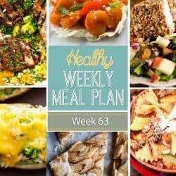 Healthy Weekly Meal Plan #63