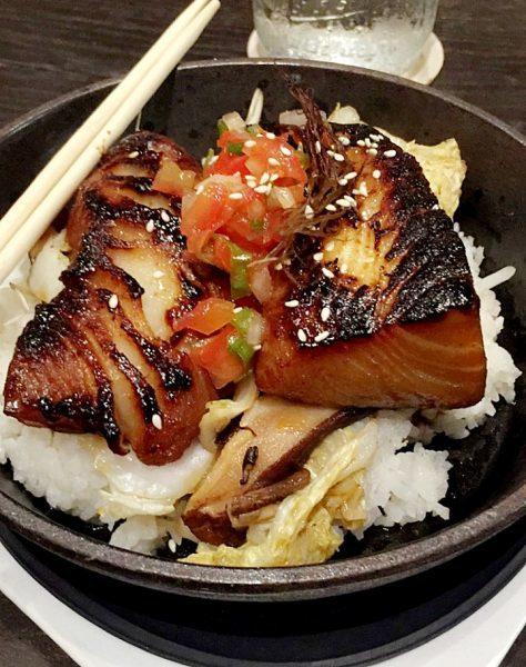Butterfish Kamameshi (Hot Pot Rice Bowl) at Eating House 1849 (The Ultimate Kauai Travel Guide - What to do in Kauai) AD