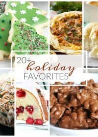 20+ Best Holiday Recipes to make this Christmas & New Year's Season! From ham dinners to cakes & cookies, you will love these delicious recipes for the holidays!