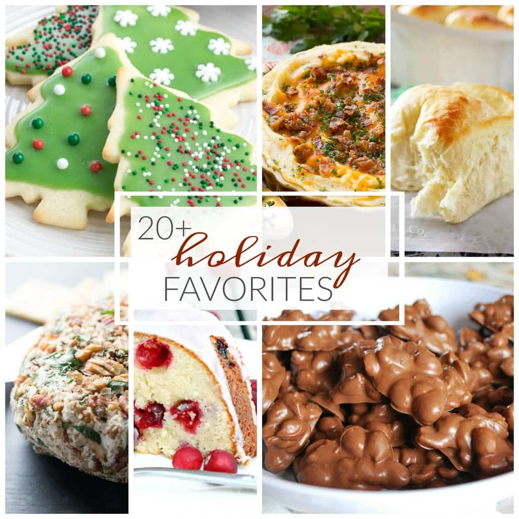 Easy tasty holiday recipes