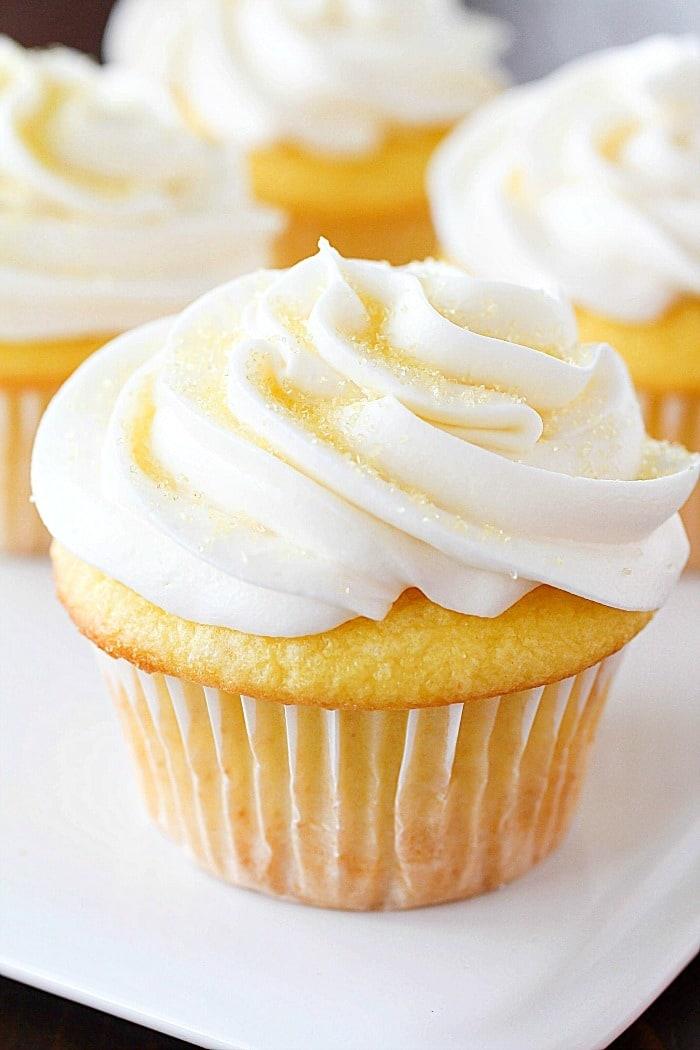 Easy cupcake recipe lemon
