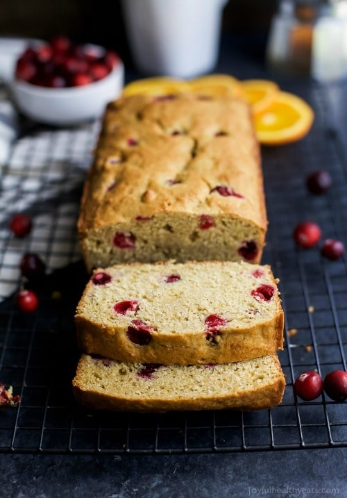 Moist Orange Cranberry Bread, made with fresh cranberries and fresh orange juice. This Cranberry Orange Bread is one of the BEST things you'll have all fall!