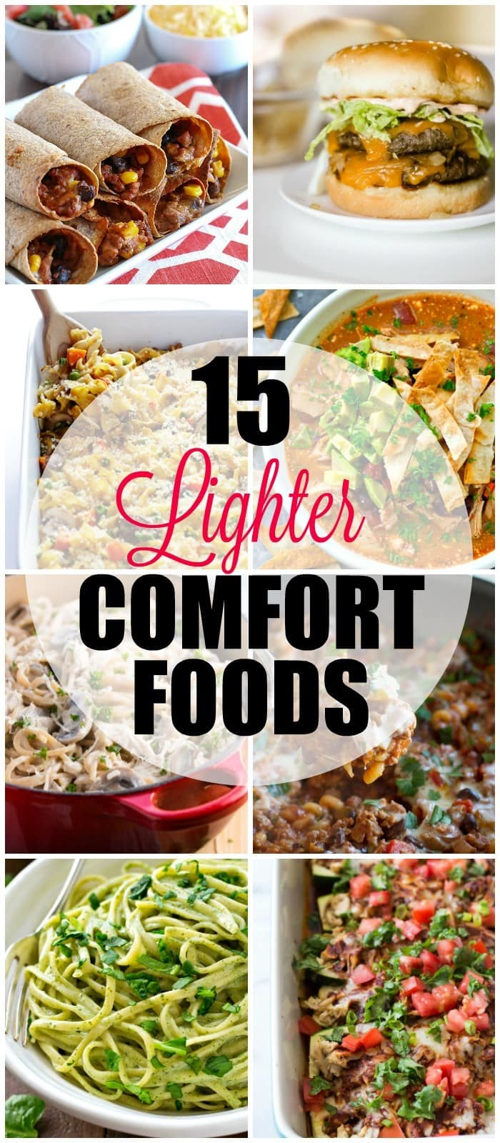15 Light Healthy Comfort Food Recipes Yummy Healthy Easy