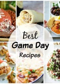 Over 20 of the Best Game Day Recipes! Make watching the football games even more enjoyable by eating yummy food! Here are 20+ appetizer recipes you will love!