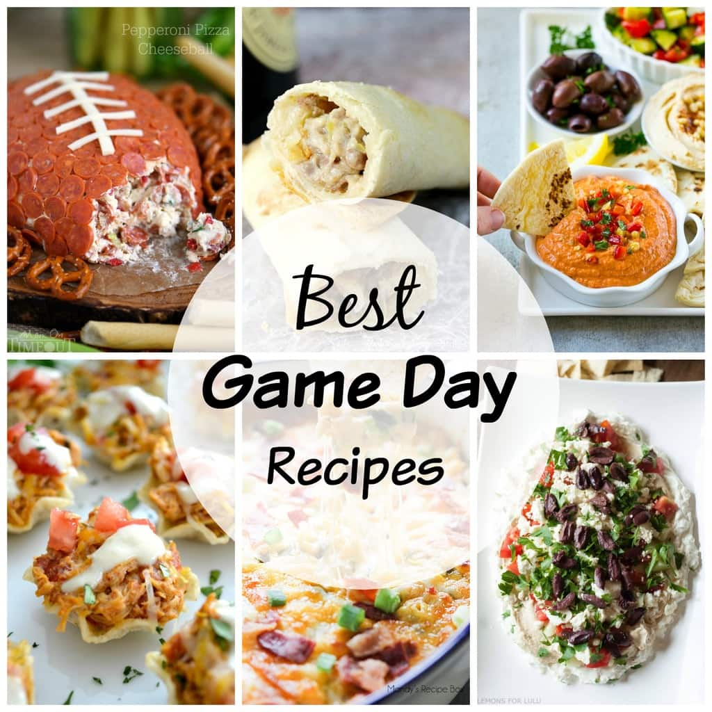 Over 20 Best Game Day Recipes Yummy Healthy Easy
