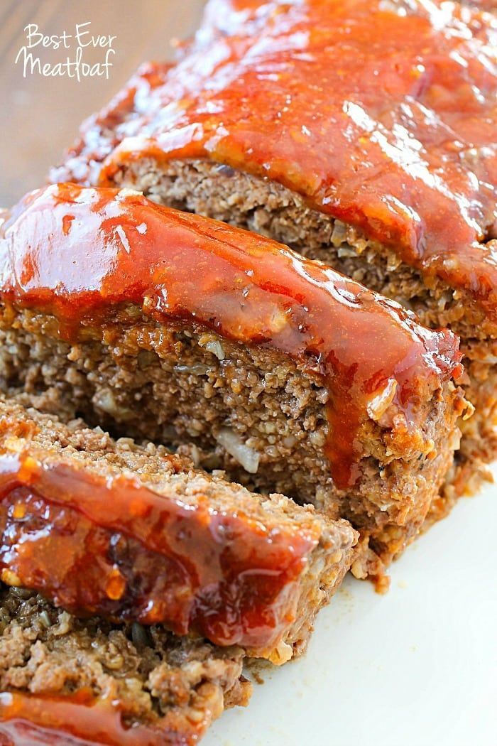 FAVORITE Sunday night dinner! It really is the Best Ever Meatloaf ...
