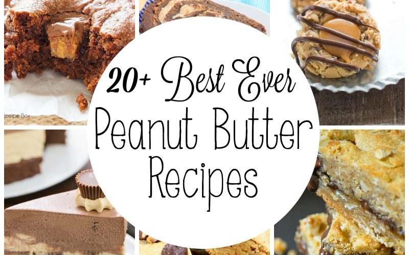 Peanut Butter is one of the most versatile ingredients! You can add it to savory AND sweet dishes and the outcome is always delicious. Here are 20 of the Best Ever Peanut Butter Recipes for you to try - from breakfast to dessert! I hope you can find one or ten recipes to try from this awesome roundup including some of my favorite blogger friends! Enjoy!