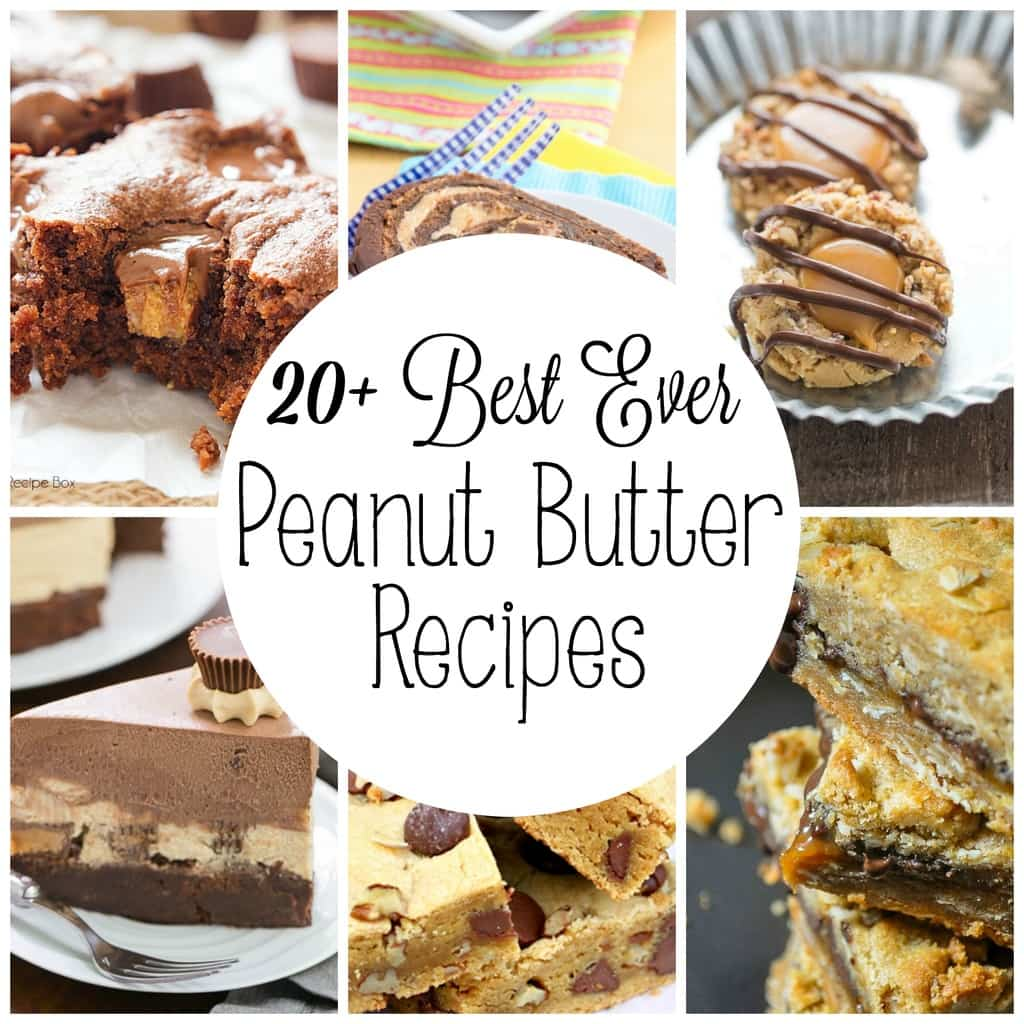 Over 20 best ever peanut butter recipes yummy healthy easy for Simple peanut butter dessert recipes