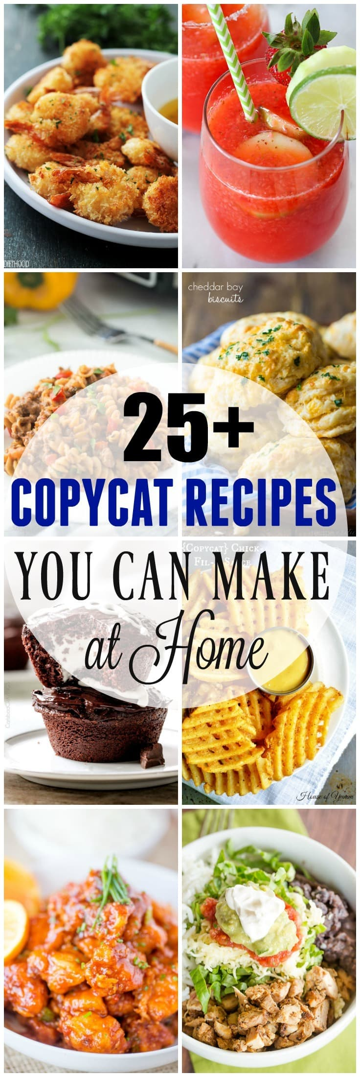 25 copycat recipes to make at home yummy healthy easy 25 copycat recipes to make at home eating out is fun but it forumfinder Images