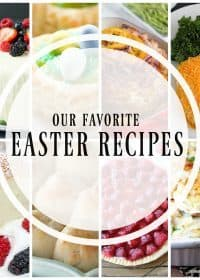 20+ of the Best Easter Recipes all together in one place! From dinner to dessert, I've got you covered with the best ever recipes for Easter! I hope you can find one or ten recipes to try from this awesome roundup including some of my favorite blogger friends! Enjoy!