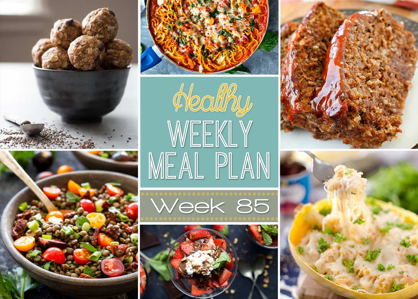 Healthy weekly meal plan 85 yummy healthy easy for Healthy and delicious dinner recipes