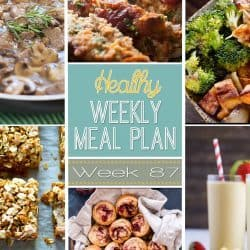 Healthy Weekly Meal Plan #87
