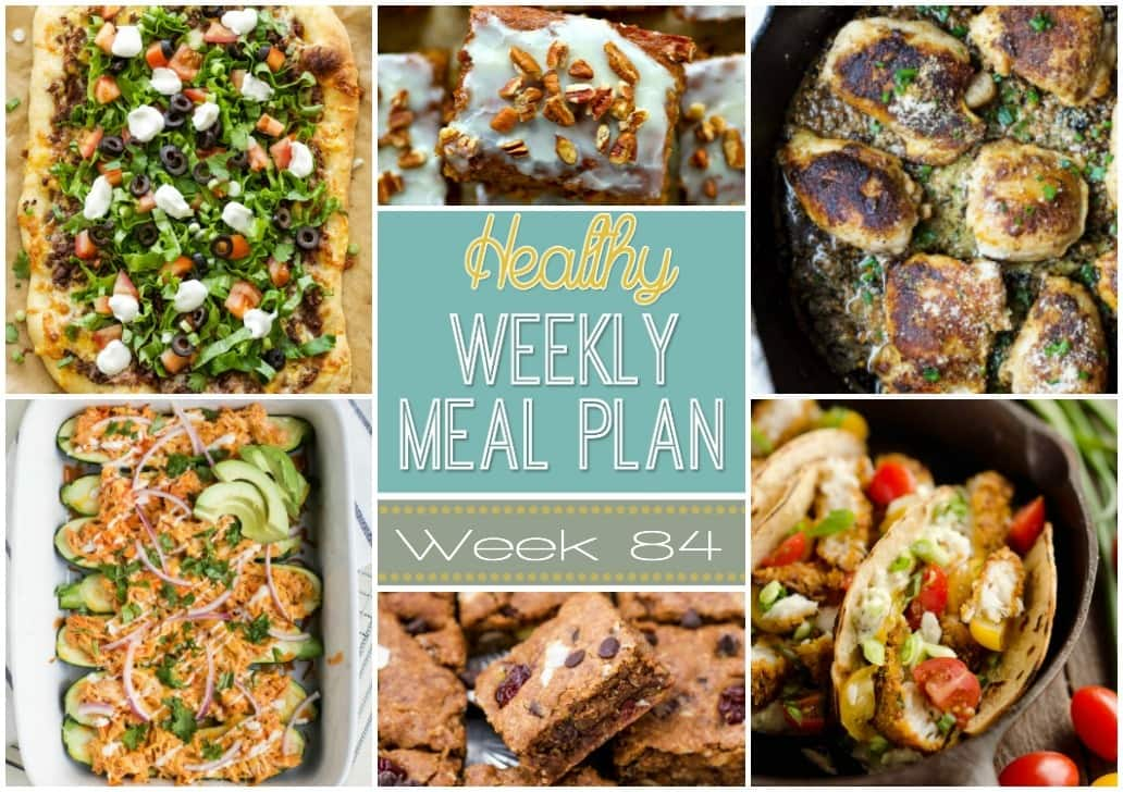 Healthy weekly meal plan 84 yummy healthy easy healthy weekly meal plan 84 has a healthy dinner recipe for every night of the forumfinder Images