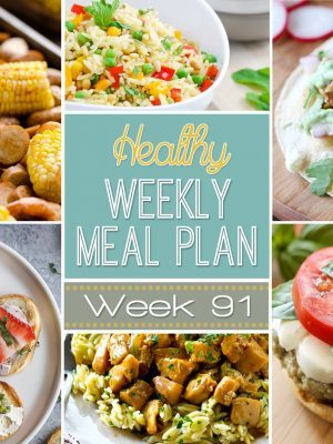 Healthy Weekly Meal Plan #91