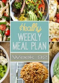 Healthy Weekly Meal Plan #92 Menu Planner for the week!