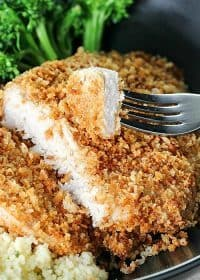 Tender and Juicy Crispy Baked Breaded Pork Chops