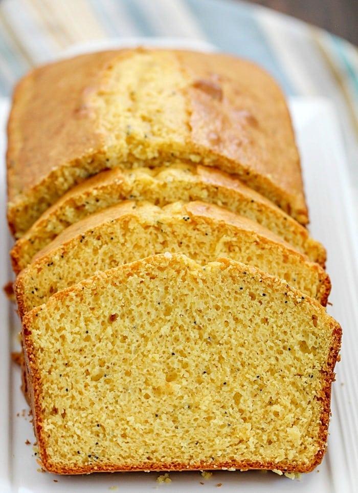 Easy Cake Mix Poppy Seed Cake Slices