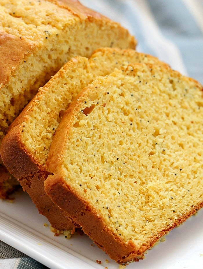 Poppy Seed Bread With Yellow Cake Mix