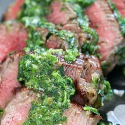 Tender Beef Medallions with Chimichurri Sauce