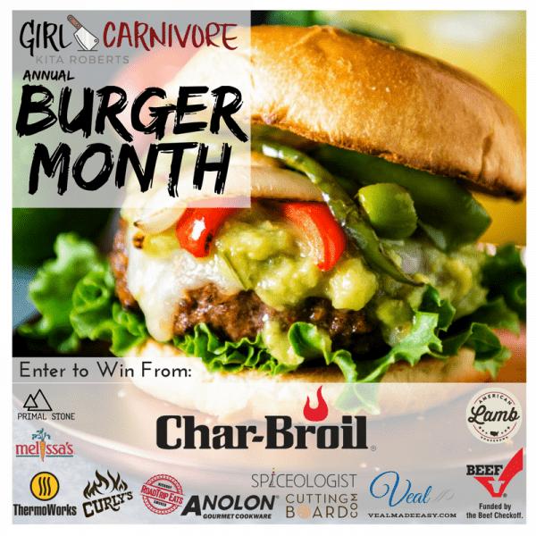 Burger Month Giveaway Details!