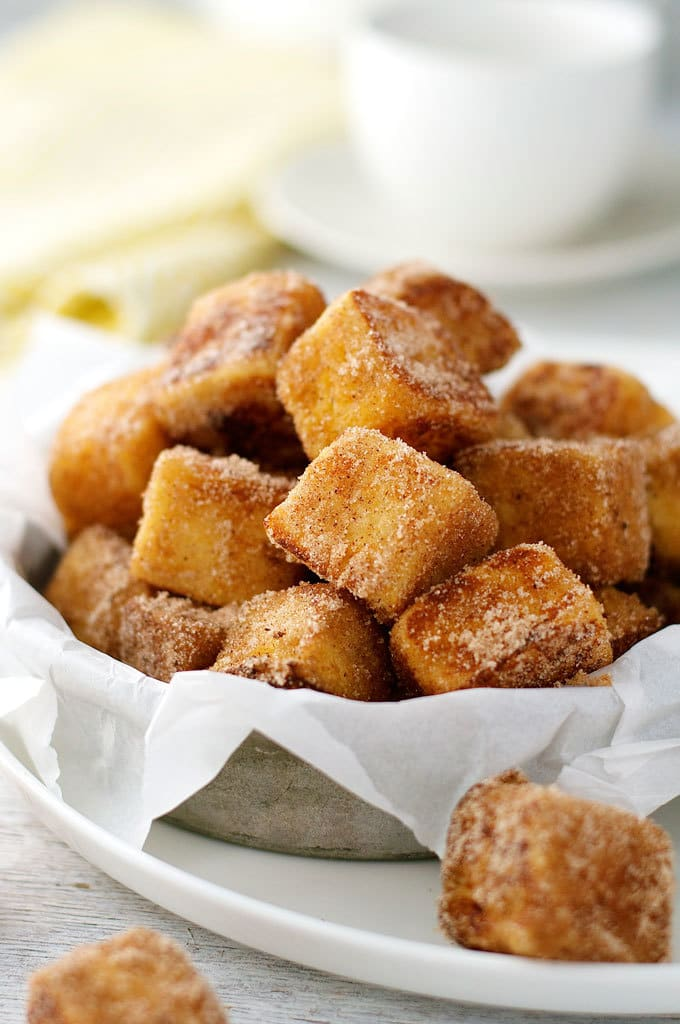 Cinnamon French Toast Bites by RecipeTin Eats
