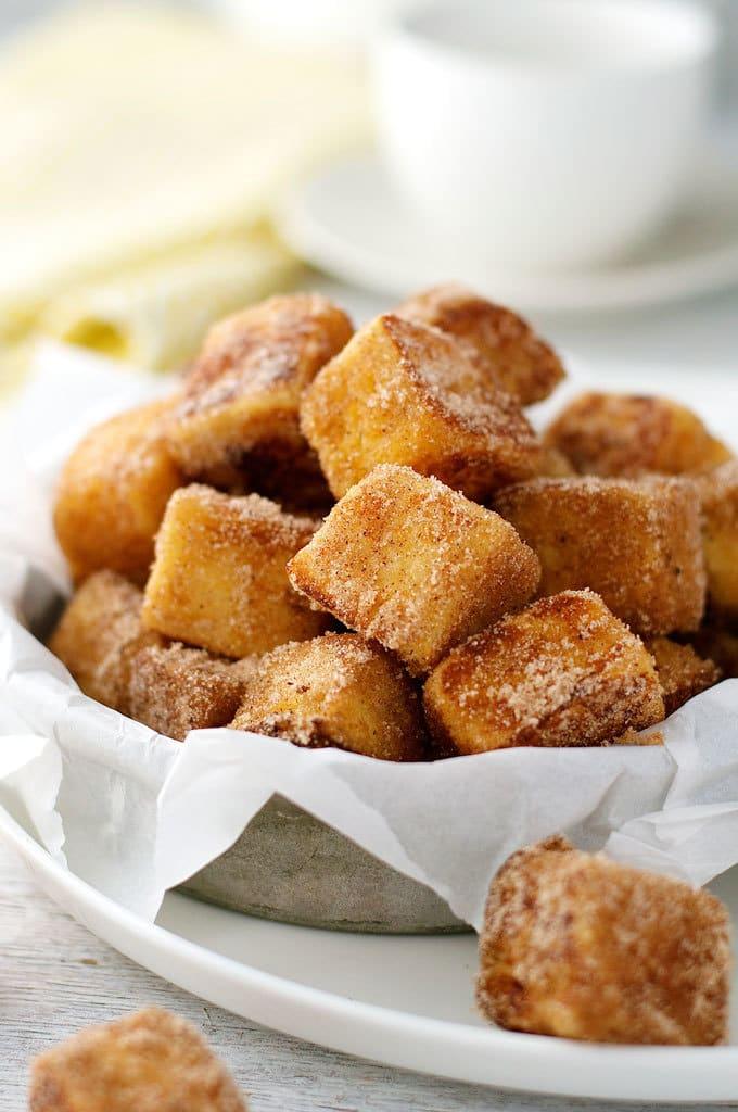 Cinnamon French Toast Bites by RecipeTin Eats