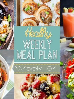 Healthy Weekly Meal Plan #94