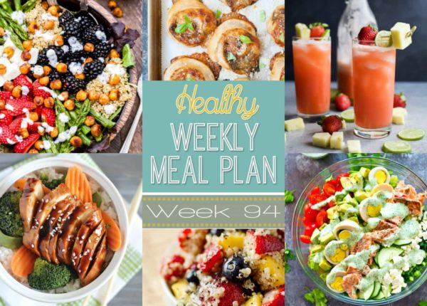 Healthy Weekly Meal Plan #94 to plan out your meals!