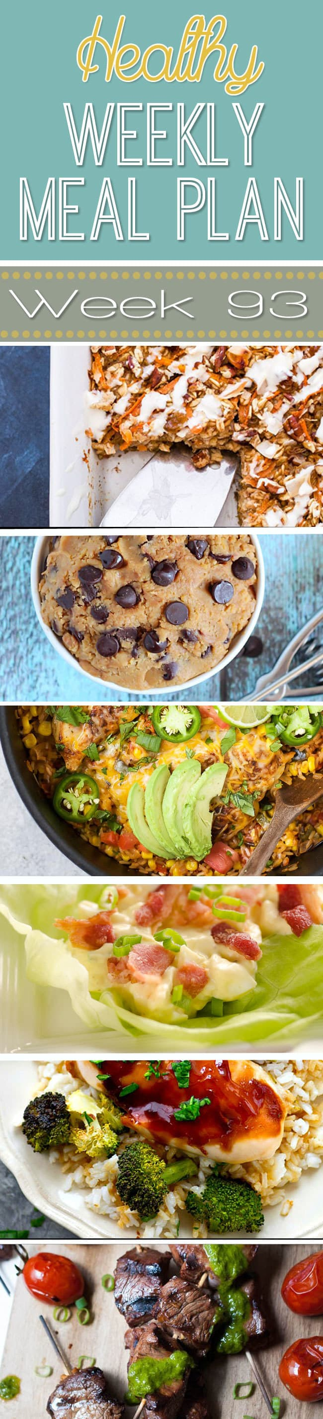 Delicious Recipes in Healthy Weekly Meal Plan Week #93