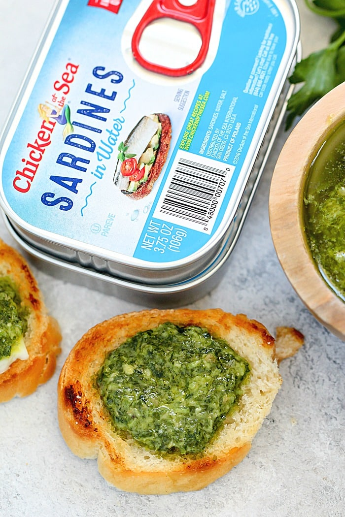 Delicious Italian Salsa Verde Recipe for serving with bread and cheese or over steak or fish!